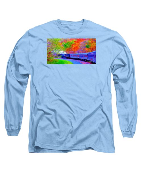 Bang Bang Choo Choo Train-a Dreamy Version Collection Long Sleeve T-Shirt