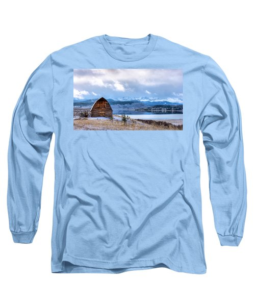 Barn At The Lake Long Sleeve T-Shirt