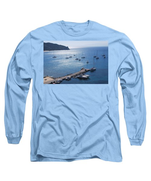 Long Sleeve T-Shirt featuring the photograph Bay Of Porto by George Katechis