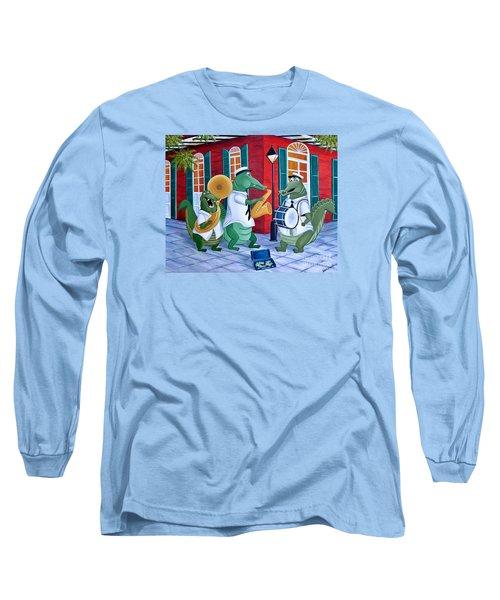 Bayou Street Band Long Sleeve T-Shirt