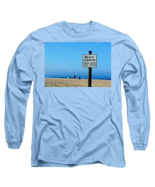 Beach Curfew Long Sleeve T-Shirt