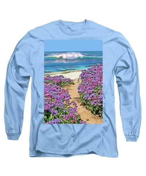 Beach Pathway Long Sleeve T-Shirt