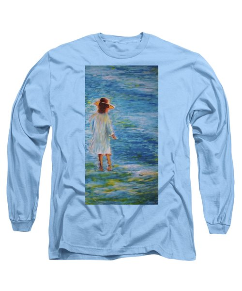 Beach Walker Long Sleeve T-Shirt