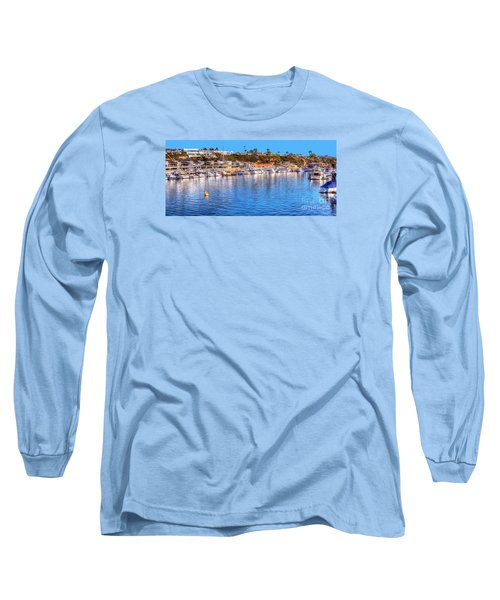 Long Sleeve T-Shirt featuring the photograph Beacon Bay - South by Jim Carrell