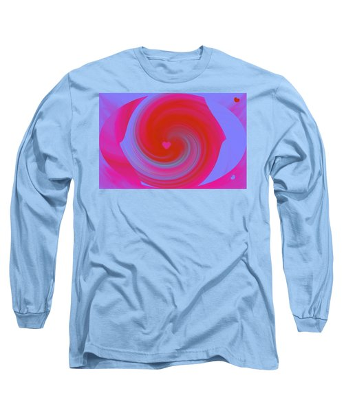 Long Sleeve T-Shirt featuring the digital art Beauty Marks by Catherine Lott