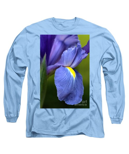 Long Sleeve T-Shirt featuring the photograph Beauty Of Iris by Joy Watson