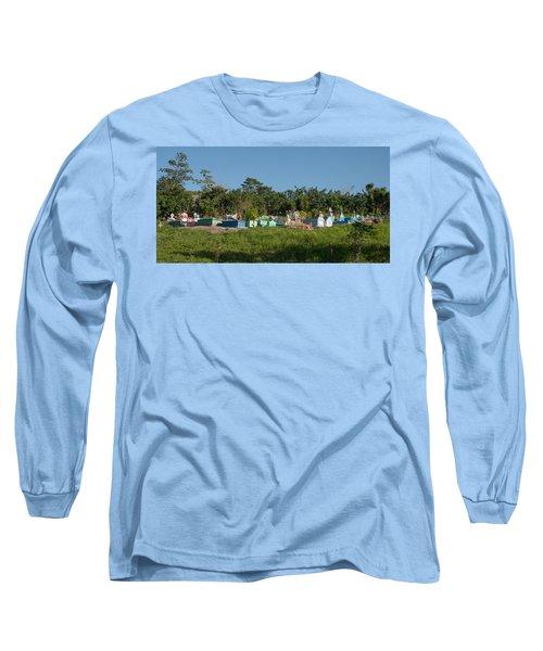 Belize Cemetery Long Sleeve T-Shirt