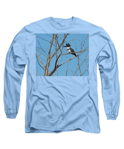 Belted Kingfisher 4 Long Sleeve T-Shirt