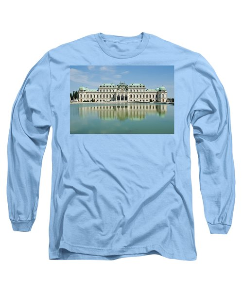 Long Sleeve T-Shirt featuring the photograph Belvedere Palace by Jeremy Voisey