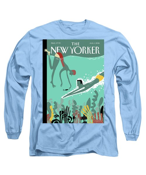 Beneath The Waves Long Sleeve T-Shirt