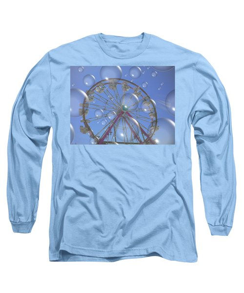 Big B Bubble Ferris Wheel Long Sleeve T-Shirt