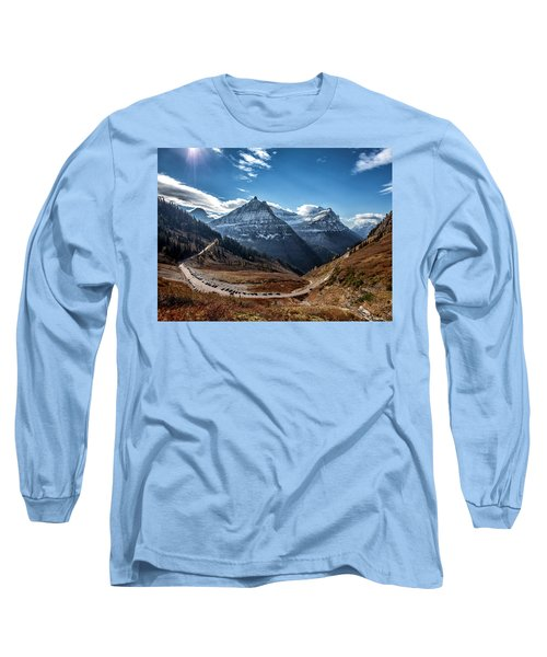 Long Sleeve T-Shirt featuring the photograph Big Bend by Aaron Aldrich