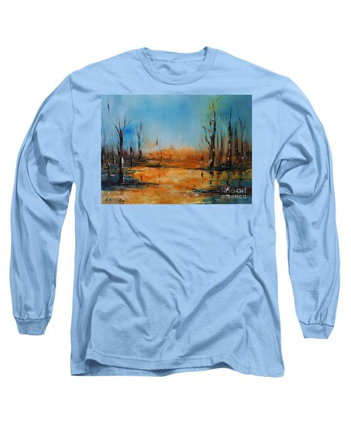Birches Pond Long Sleeve T-Shirt
