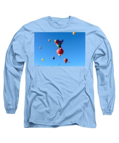 Bird Balloon Long Sleeve T-Shirt