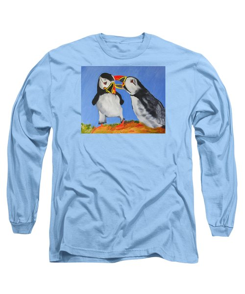 A Mother's Love Long Sleeve T-Shirt by Meryl Goudey