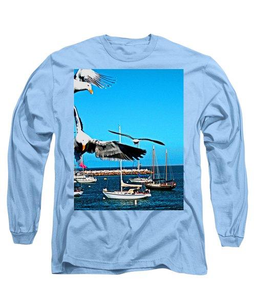 Birds In Paradise Long Sleeve T-Shirt