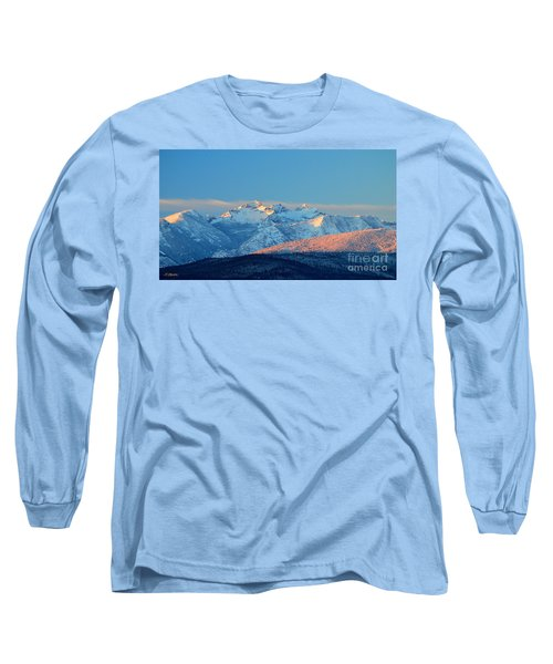Bitterroot Mountain Morning Long Sleeve T-Shirt