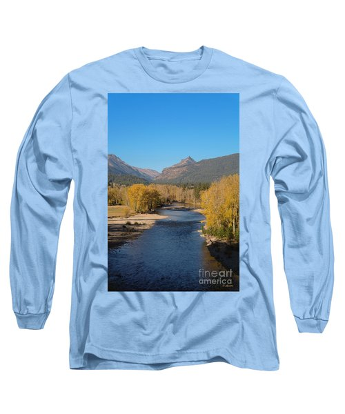 Bitterroot River Fall Long Sleeve T-Shirt