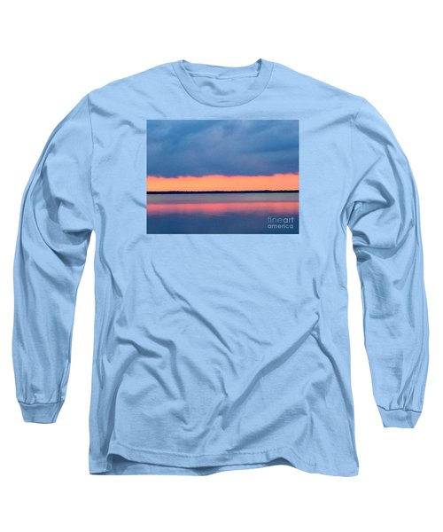 Black Hammock Sunset 2 Long Sleeve T-Shirt