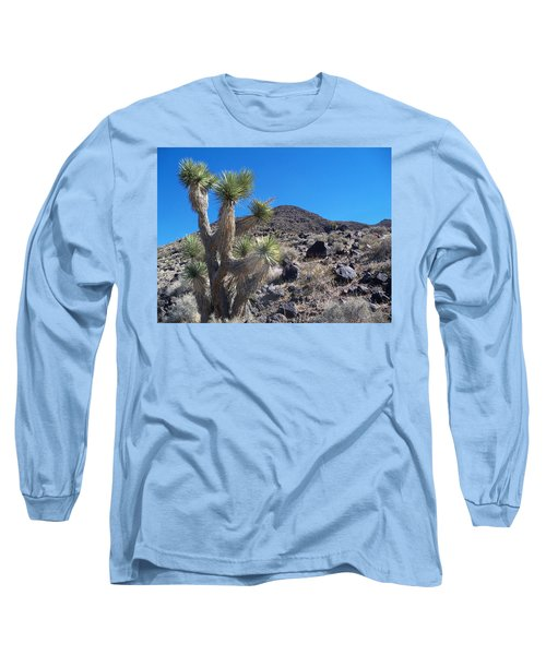 Long Sleeve T-Shirt featuring the photograph Black Mountain Yucca by Alan Socolik