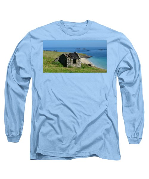 Blasket Island Long Sleeve T-Shirt by Barbara Walsh
