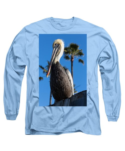 Blond Pelican Long Sleeve T-Shirt
