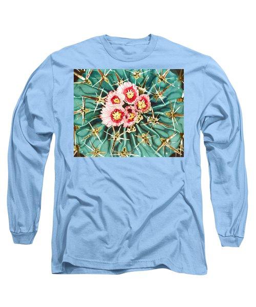 Bloomin' Horse Crippler Cactus Long Sleeve T-Shirt