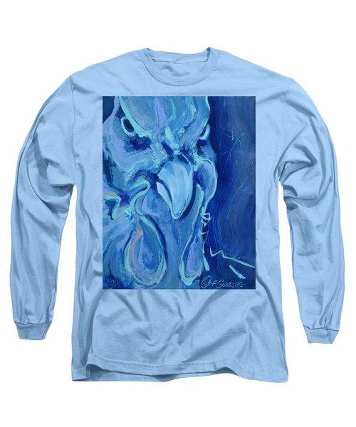 Blue Chicken Long Sleeve T-Shirt