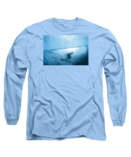 Blue Cocoon Long Sleeve T-Shirt