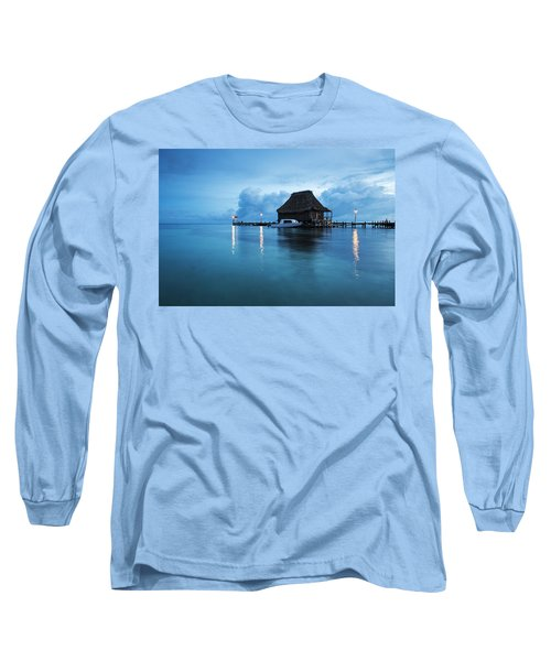 Blue Hour Landscape Long Sleeve T-Shirt