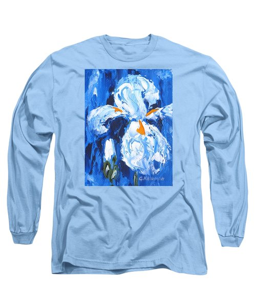 Blue Iris Long Sleeve T-Shirt