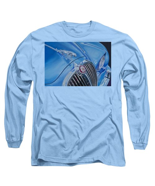 Vintage Blue Jag Long Sleeve T-Shirt