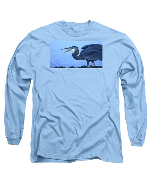 Blue Moment Long Sleeve T-Shirt