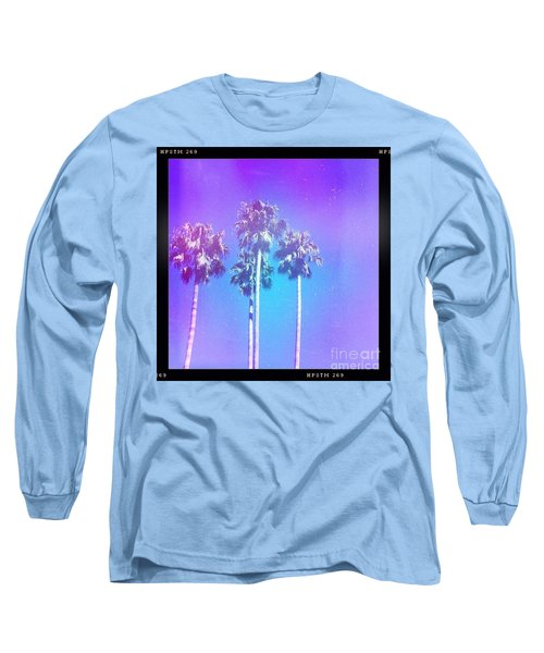 Blue Palms Long Sleeve T-Shirt