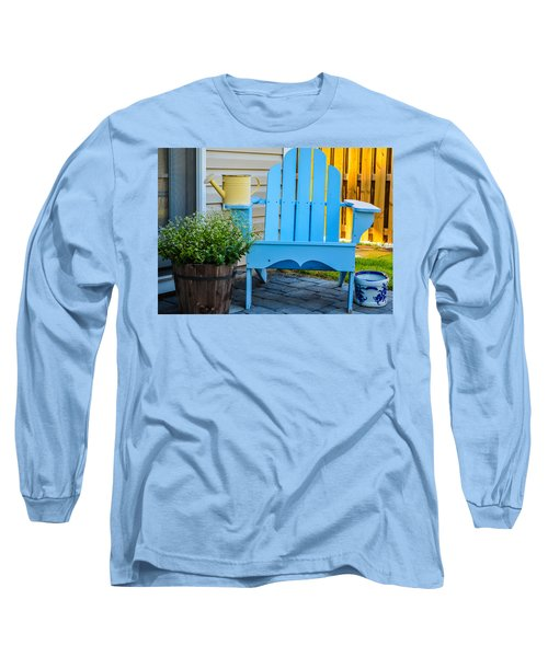 Blue Repose  Long Sleeve T-Shirt