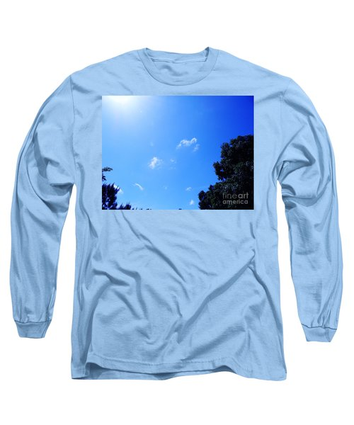 Blue Sky And Sunshine Long Sleeve T-Shirt