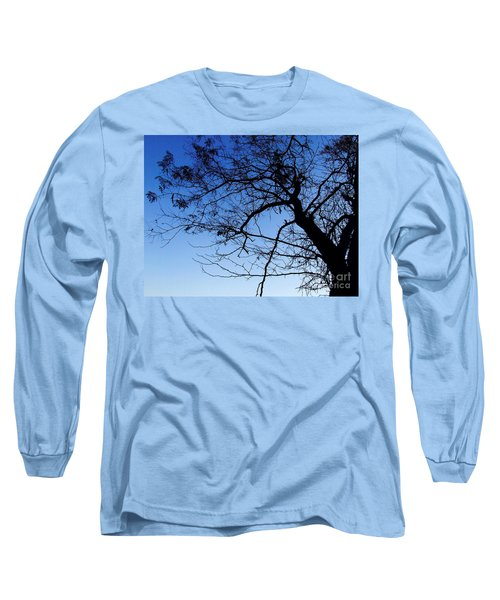 Long Sleeve T-Shirt featuring the photograph Blue Sky by Andrea Anderegg