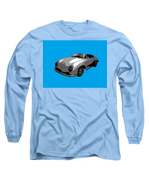 Blue Speedster Long Sleeve T-Shirt by J Anthony