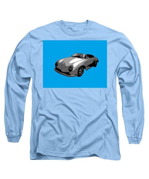 Blue Speedster Long Sleeve T-Shirt