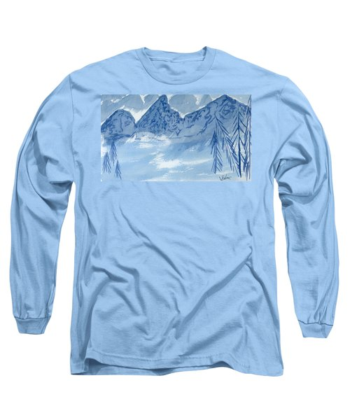 Blue View #2 Long Sleeve T-Shirt