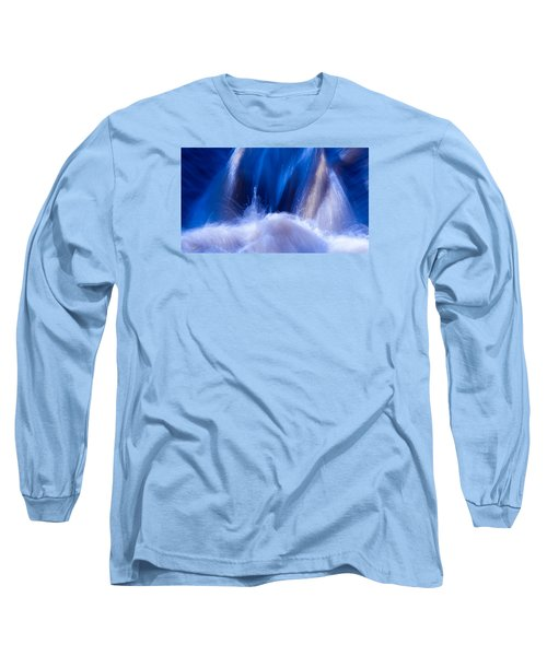 Blue Water Long Sleeve T-Shirt by Torbjorn Swenelius