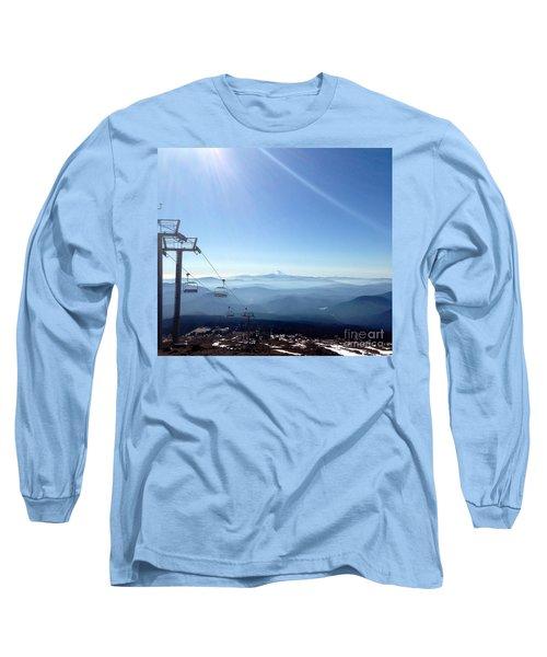 Blue Yonder Long Sleeve T-Shirt by Susan Garren