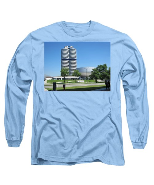 Long Sleeve T-Shirt featuring the photograph Bmw Head Quaters by Pema Hou