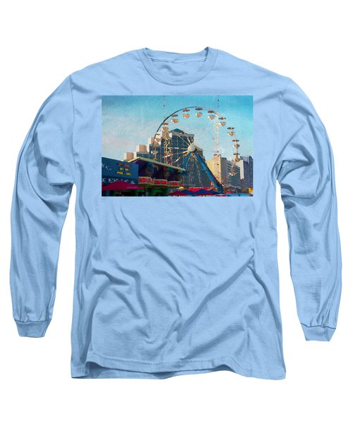 Boardwalk Ferris  Long Sleeve T-Shirt