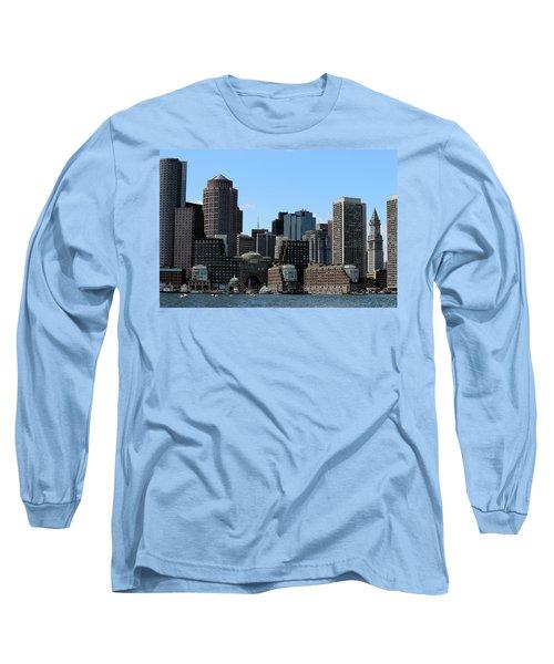 Boston Harbor Long Sleeve T-Shirt