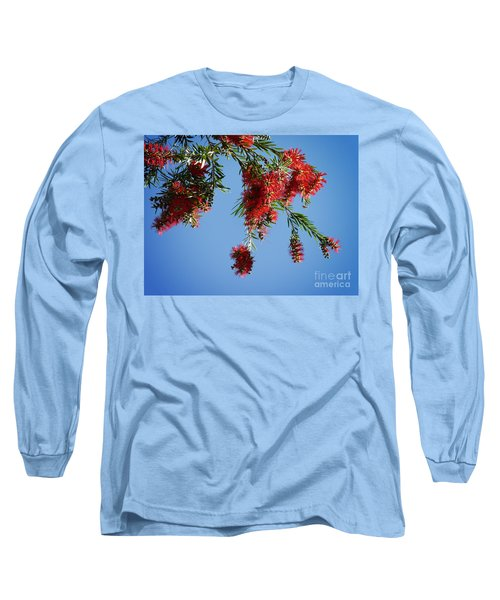 Bottle Brushing The Sky Long Sleeve T-Shirt
