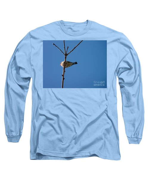 Long Sleeve T-Shirt featuring the photograph Bottoms Up by Meghan at FireBonnet Art