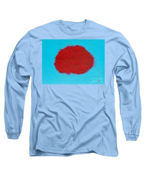 Brain Red Long Sleeve T-Shirt