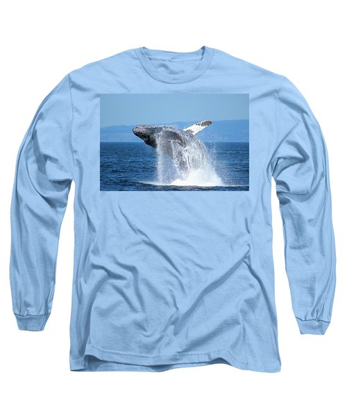 Breaching Humpback Long Sleeve T-Shirt