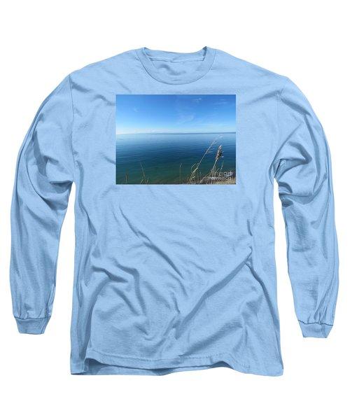 Breeze In Blue Long Sleeve T-Shirt